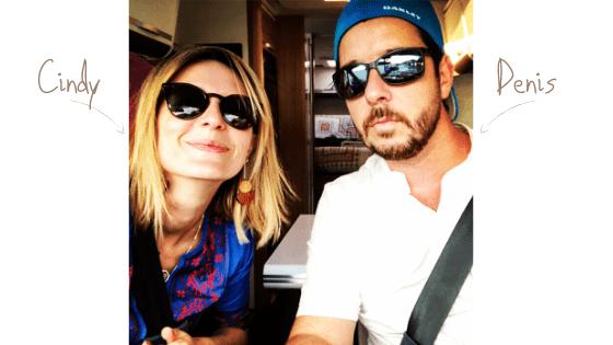 Départ pour l'Espagne de Denis et Cindy avec Léon (Le camping-car)