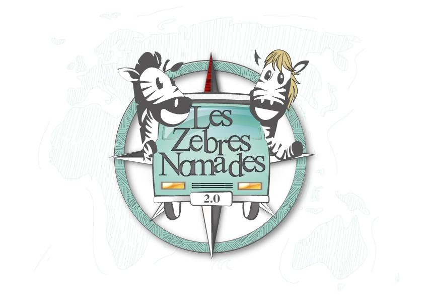 les zebres nomades logo