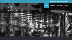 Création du site vitrine Adour Garage - Garage Automobile