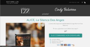 Création du site ecommerce des Editions LZN